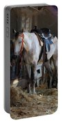 Sad Horse Portable Battery Charger