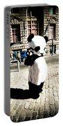 Sad Panda Portable Battery Charger