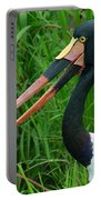 Saddle Billed Stork-00139 Portable Battery Charger