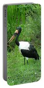 Saddle Billed Stork-136 Portable Battery Charger