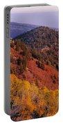 Saddle Mountain Autumn-sq Portable Battery Charger