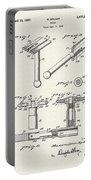 Safety Razor Patent 1937 Portable Battery Charger