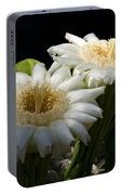 Saguaro Cactus Flowers  Portable Battery Charger