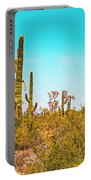Saguaro Cactus In Organ Pipe Monument Portable Battery Charger