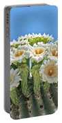 Saguaro Flowers On Top Portable Battery Charger