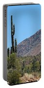 Saguaros And Mountain Portable Battery Charger