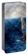 Sailboarding W Metal Portable Battery Charger