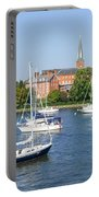 Sailboats By Charles Carroll House Portable Battery Charger