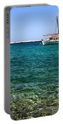 Sailboats On The Water Portable Battery Charger