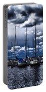Sailboats Portable Battery Charger