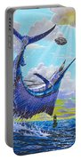 Sailfish Football Off0030 Portable Battery Charger by Carey Chen