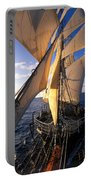 Sailing Boats Kruzenshtern Portable Battery Charger by Anonymous