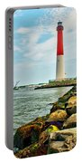 Sailing By Barnegat Light Portable Battery Charger
