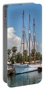 Sailing In Barcelona Portable Battery Charger