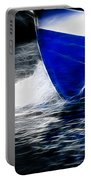 Sailing In Blue Portable Battery Charger
