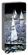 Sailing On Blue Portable Battery Charger