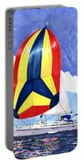 Sailing Primary Colores Spinnaker Portable Battery Charger