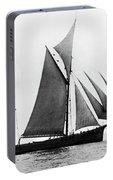 Sailing Ship Ketch, 1876 Portable Battery Charger