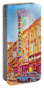 Saint Catherine Street Montreal Portable Battery Charger