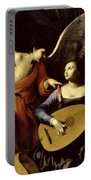 Saint Cecilia And The Angel Portable Battery Charger