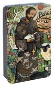 Saint Francis Portable Battery Charger
