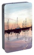 Saint Marys Marina   Shadows Light And Fire Portable Battery Charger