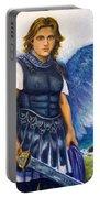 Saint Michael The Archangel Portable Battery Charger