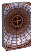 Saint Nicholas Church Dome Interior In Amsterdam Portable Battery Charger