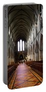 Saint Patrick's Cathedral Interior Dublin Portable Battery Charger