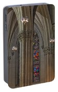 Saint Patrick's Cathedral Stained Glass Window Portable Battery Charger