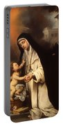 Saint Rose Of Lima Portable Battery Charger