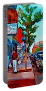 Saint Viateur Bagel Shop Portable Battery Charger