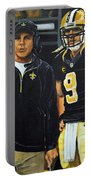 Saints Dynamic Duo Portable Battery Charger