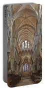 Salisbury Cathedral Quire And High Altar Portable Battery Charger