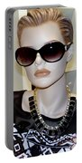 Sally In Shades Portable Battery Charger