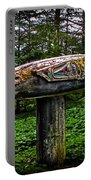Salmon Totem Pole Portable Battery Charger