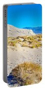 Salt Creek Boardwalk Trail In Death Valley National Park-california  Portable Battery Charger