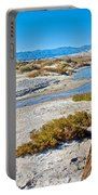 Salt Creek Trail Boardwalk In Death Valley National Park-california  Portable Battery Charger