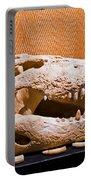 Salt Water Crocodile Skull Portable Battery Charger