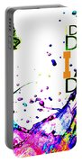 Salvador Dali Pop Art Portable Battery Charger