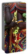 Samburu Women Dancing Kenya Portable Battery Charger