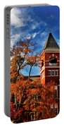 Samford Hall In The Fall Portable Battery Charger by Victoria Lawrence