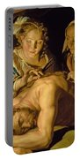 Samson And Delilah Portable Battery Charger