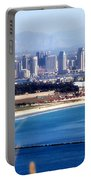San Diego From Point Loma By Diana Sainz Portable Battery Charger