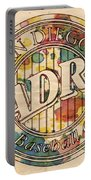 San Diego Padres Poster Art Portable Battery Charger
