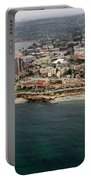 San Diego Shoreline From Above Portable Battery Charger