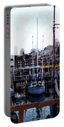 San Francisco Behind The Masts Portable Battery Charger