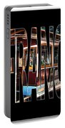 San Francisco Cable Car Art Portable Battery Charger