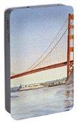 San Francisco California Golden Gate Bridge Portable Battery Charger
