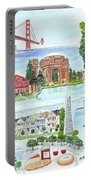 San Francisco Highlights Montage Portable Battery Charger
